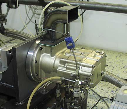 Air-borne screw compressor