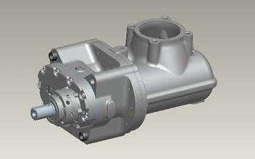 SRM biogas compressor